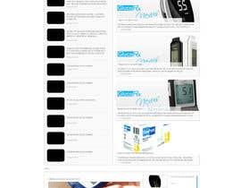 adarshkjames tarafından Design a WebGluco RX Websitesite Mockup için no 10