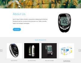 BrytenDesign tarafından Design a WebGluco RX Websitesite Mockup için no 63