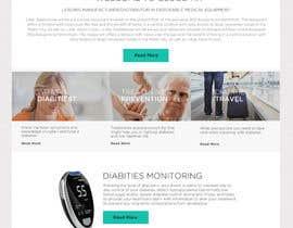 #49 for Design a WebGluco RX Websitesite Mockup by styleworksstudio