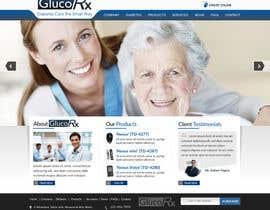 #51 for Design a WebGluco RX Websitesite Mockup by imrickmiller