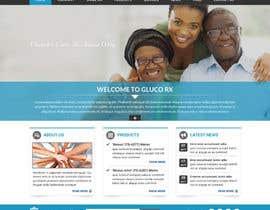 #52 for Design a WebGluco RX Websitesite Mockup by imrickmiller