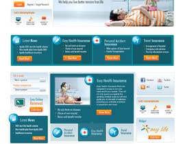 #56 for Design a WebGluco RX Websitesite Mockup by caroandrade26