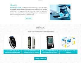 TemplateDigitale tarafından Design a WebGluco RX Websitesite Mockup için no 25