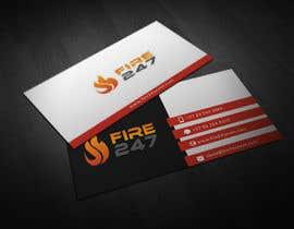 SamiaRahmana5 tarafından Fire247 Business card için no 17