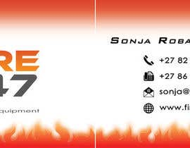 sushillan tarafından Fire247 Business card için no 9