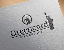 donmute tarafından Design a Logo for a Greencard / Visa Agency için no 17