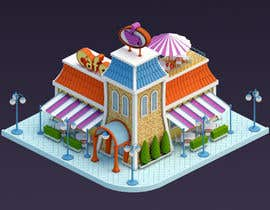 steamrocket tarafından 100+ isometric building designs for mobile city building game için no 26