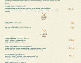 umar97 tarafından Design a menu card için no 33