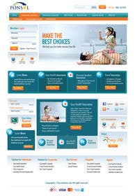 wdesigner76 tarafından Design a Website Home & 2 Internal Pages için no 18