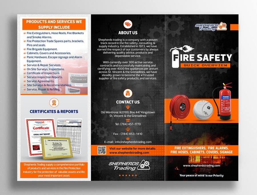 design a fire safety brochure freelancer. Black Bedroom Furniture Sets. Home Design Ideas