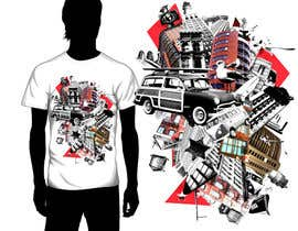 Anton206 tarafından Design a T-Shirt for streetwear brand için no 29