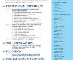 bagas0774 tarafından Design a personal CV and work history ( with sketch simple drawing ) için no 8