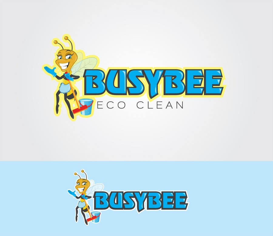 Contest Entry #                                        183                                      for                                         Logo Design for BusyBee Eco Clean. An environmentally friendly cleaning company