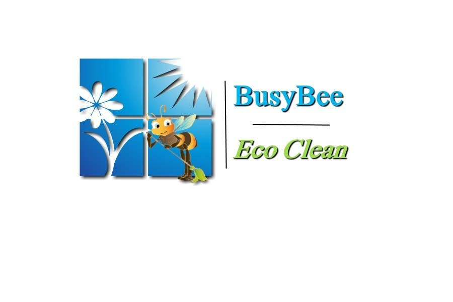 Contest Entry #200 for Logo Design for BusyBee Eco Clean. An environmentally friendly cleaning company