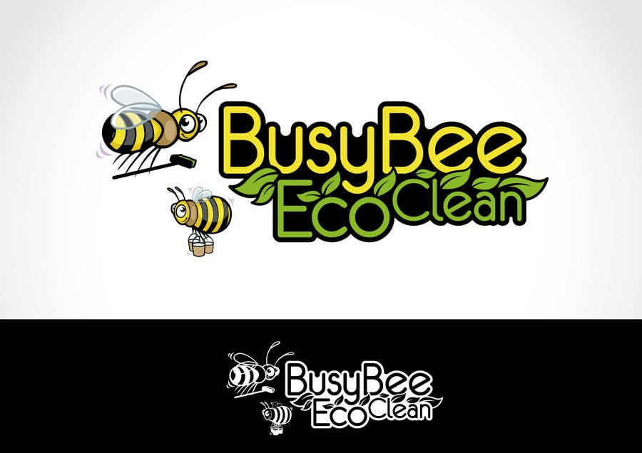 Contest Entry #                                        355                                      for                                         Logo Design for BusyBee Eco Clean. An environmentally friendly cleaning company