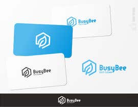 brendlab tarafından Logo Design for BusyBee Eco Clean. An environmentally friendly cleaning company için no 348