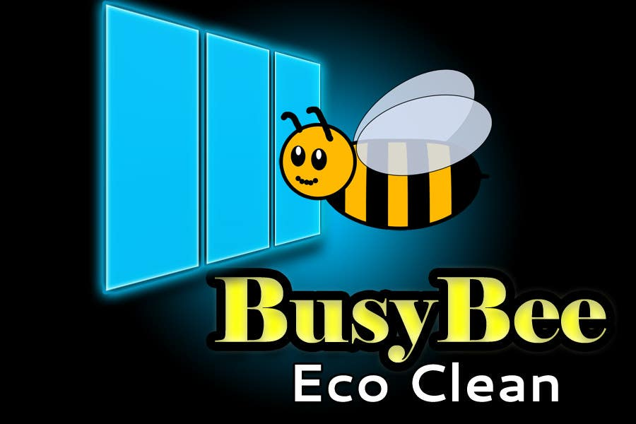 Конкурсная заявка №207 для Logo Design for BusyBee Eco Clean. An environmentally friendly cleaning company