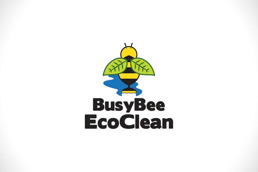Конкурсная заявка №327 для Logo Design for BusyBee Eco Clean. An environmentally friendly cleaning company
