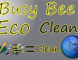 artman101 tarafından Logo Design for BusyBee Eco Clean. An environmentally friendly cleaning company için no 342