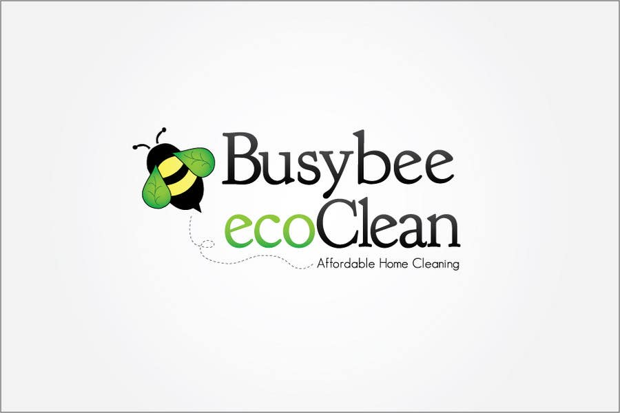Contest Entry #167 for Logo Design for BusyBee Eco Clean. An environmentally friendly cleaning company