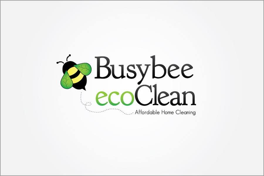 Конкурсная заявка №167 для Logo Design for BusyBee Eco Clean. An environmentally friendly cleaning company