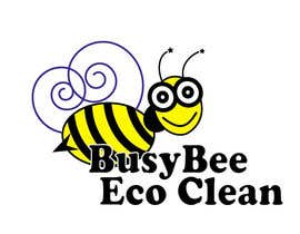 steele175 tarafından Logo Design for BusyBee Eco Clean. An environmentally friendly cleaning company için no 349