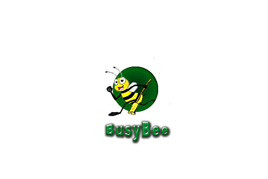 Contest Entry #326 for Logo Design for BusyBee Eco Clean. An environmentally friendly cleaning company