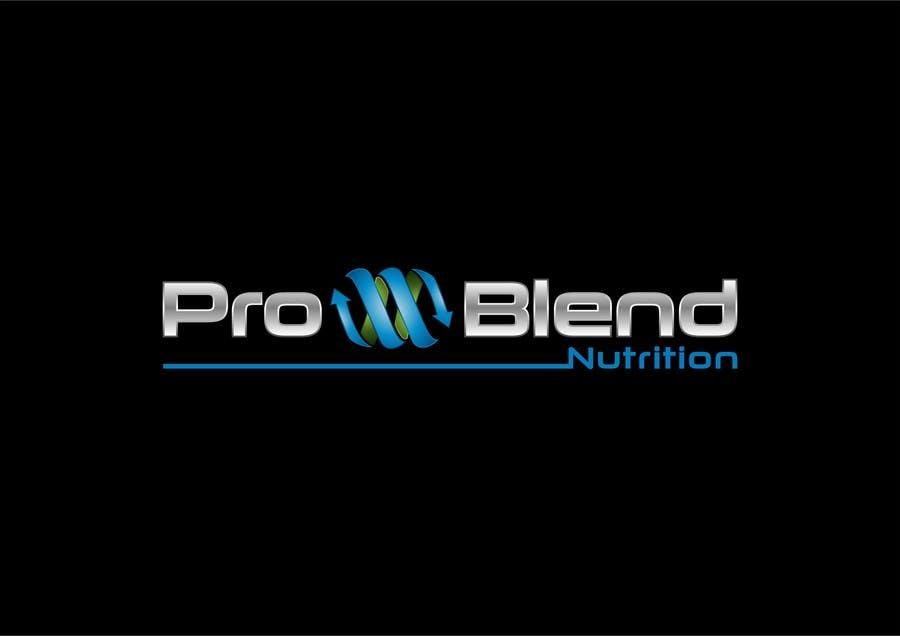 #316 for Design a Logo for PRO-BLEND NUTRITION by alkalifi