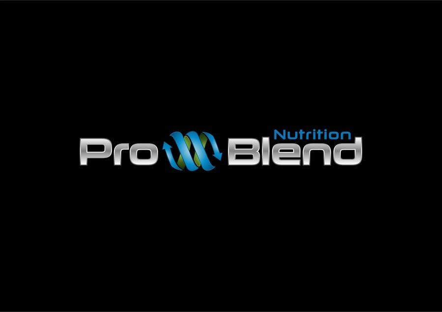 #317 for Design a Logo for PRO-BLEND NUTRITION by alkalifi