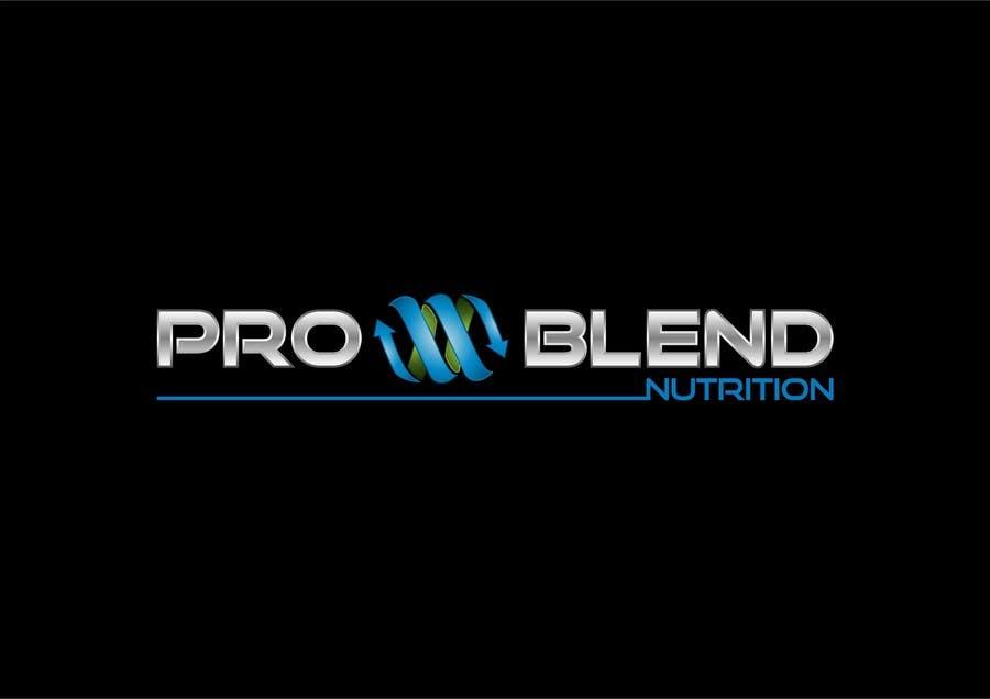 #321 for Design a Logo for PRO-BLEND NUTRITION by alkalifi