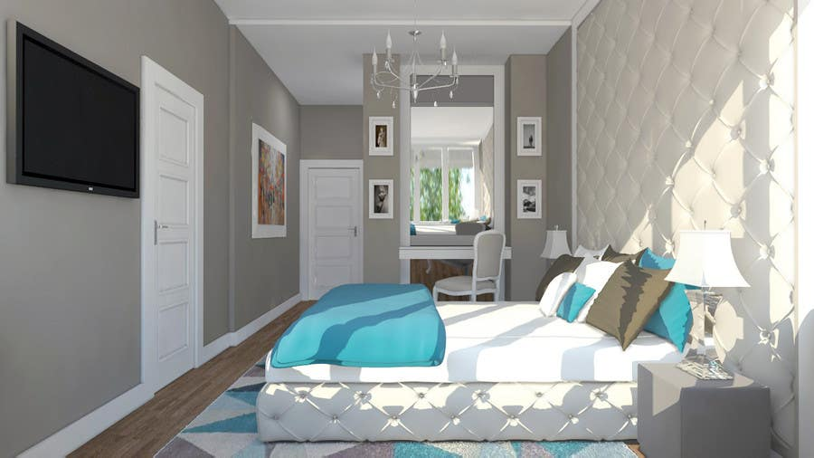 Contest Entry #32 for Help Me Design My Room & Entry #32 by MarianaFaustino for Help Me Design My Room | Freelancer