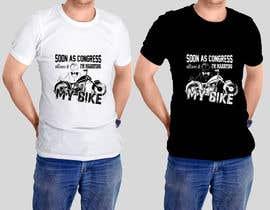 sandrasreckovic tarafından Design a T-Shirt  -  Sport Motorcycle  Quote için no 11