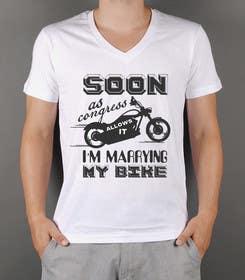 squirrel1811 tarafından Design a T-Shirt  -  Sport Motorcycle  Quote için no 18