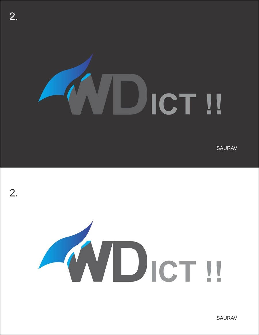 #12 for Create a corporate design for a ICT solutions company by sauravsingh