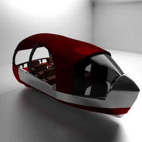 3D Modelling Contest Entry #13 for Concept Boat Design - 1 concept only