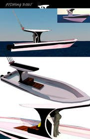 3D Modelling Contest Entry #8 for Concept Boat Design - 1 concept only