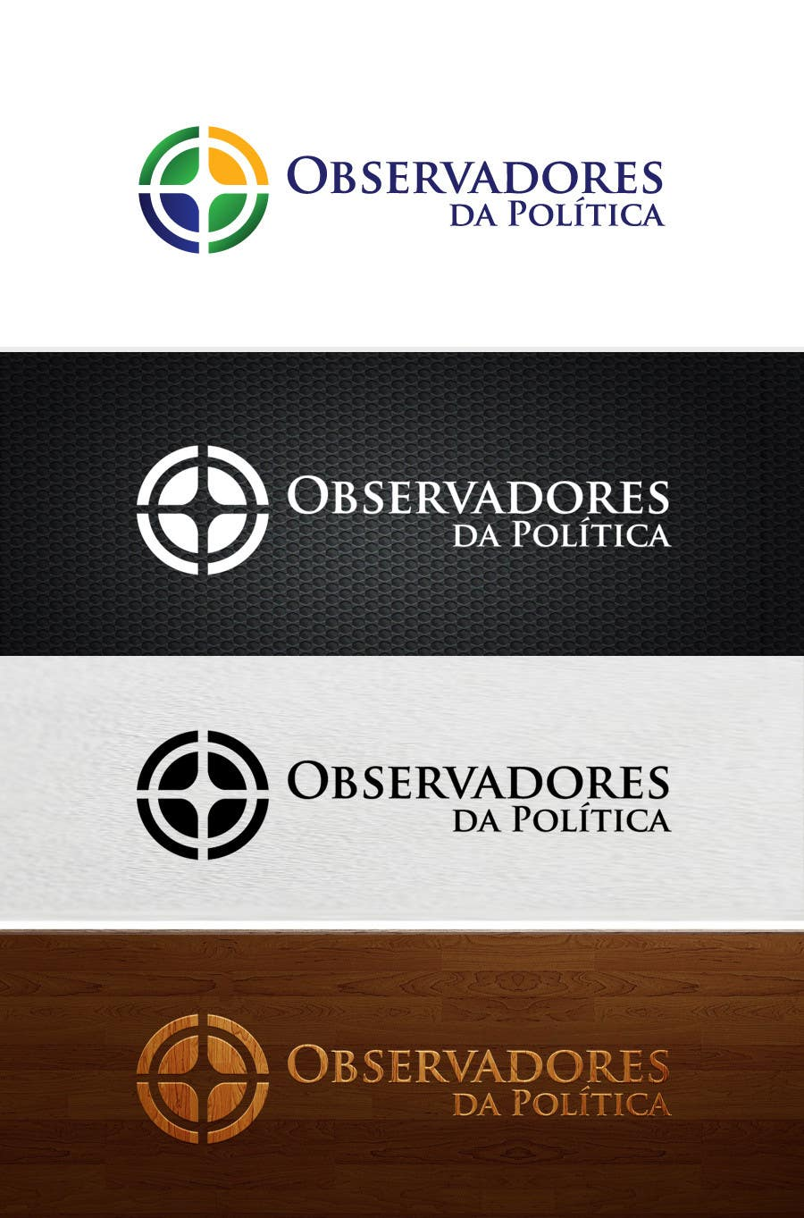 #115 for Projetar um Logo for Observadores da Política by skrDesign21