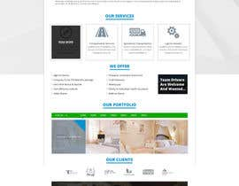 #10 for Build a Website Cut Up/Mock Up - Provide Photoshop Document af amaanalikhan