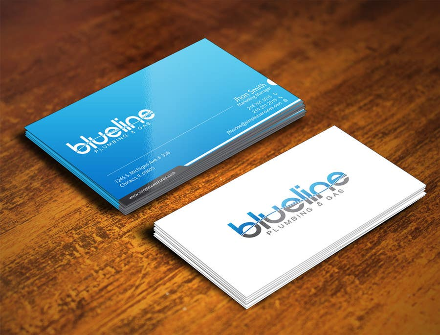 Entry #75 by gohardecent for Design some Business Cards and Fridge ...