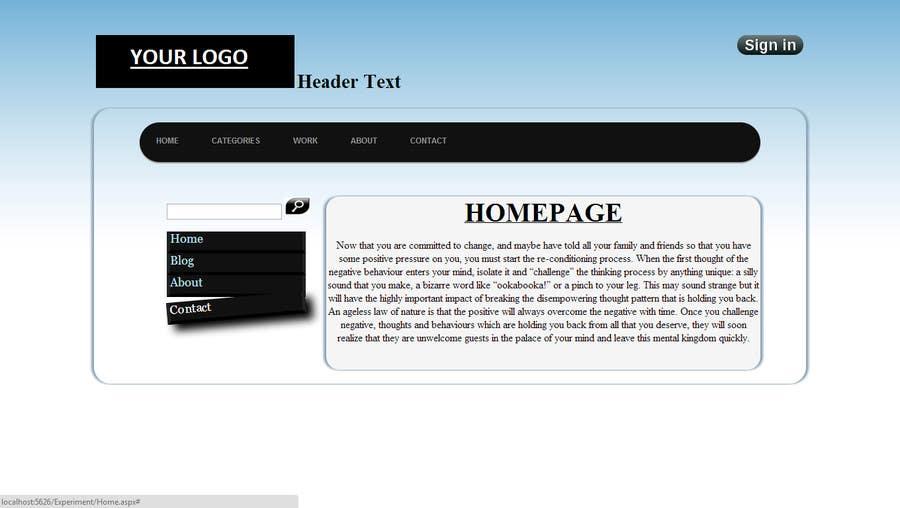 Bài tham dự cuộc thi #                                        8                                      cho                                         Create a Site.Master for a VB.NET Website