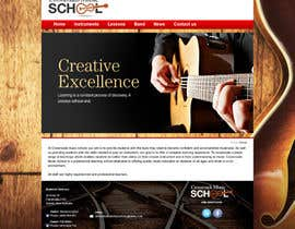 #4 for Update website for Crossroads music school by nadeeja9