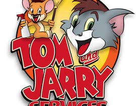 Nro 35 kilpailuun Design a Logo for Tom and Jarry Services - NB this logo must be based upon Tom and Jerry and include characters based on this. DO not submit unless this is done käyttäjältä peshan