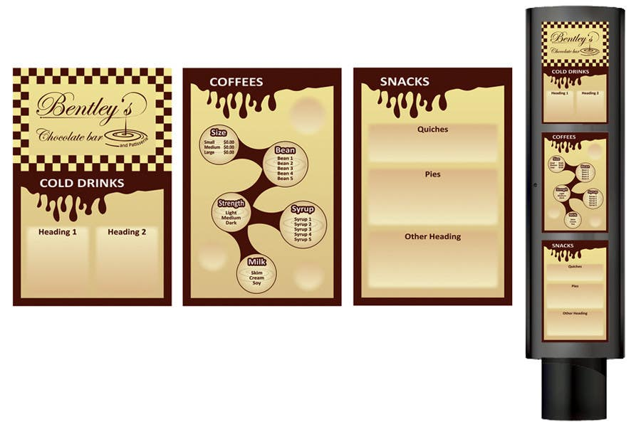 Entri Kontes #                                        24                                      untuk                                        Graphic Design for Bentley's Chocolate Bar