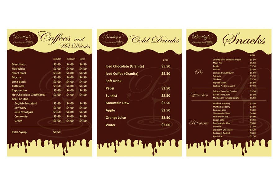 Entri Kontes #                                        45                                      untuk                                        Graphic Design for Bentley's Chocolate Bar