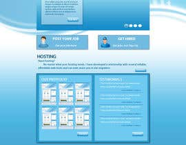 #10 for Design a Website Mockup for ColdfusionAdmins.com by sirajthapa18