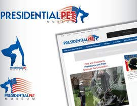 #29 para Design a Logo for Presidential Pet Museum por GeorgeOrf