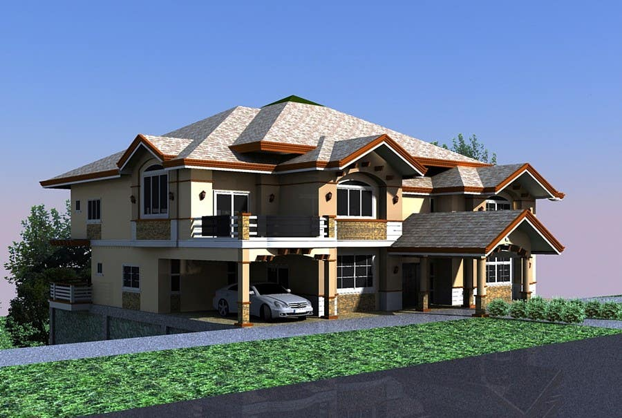 Four bedroomed house plans in zimbabwe for Best house designs in zimbabwe