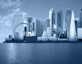 #18 untuk Create a composite landing page image of the London financial skyline oleh nishankumar