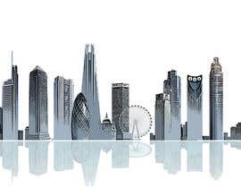 #36 untuk Create a composite landing page image of the London financial skyline oleh redmapleleaves