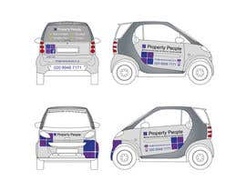nº 4 pour I need some Graphic Design for a company car par anamiruna